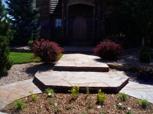Flagstone entry