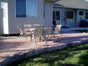 Colorado Buff Flagstone patio