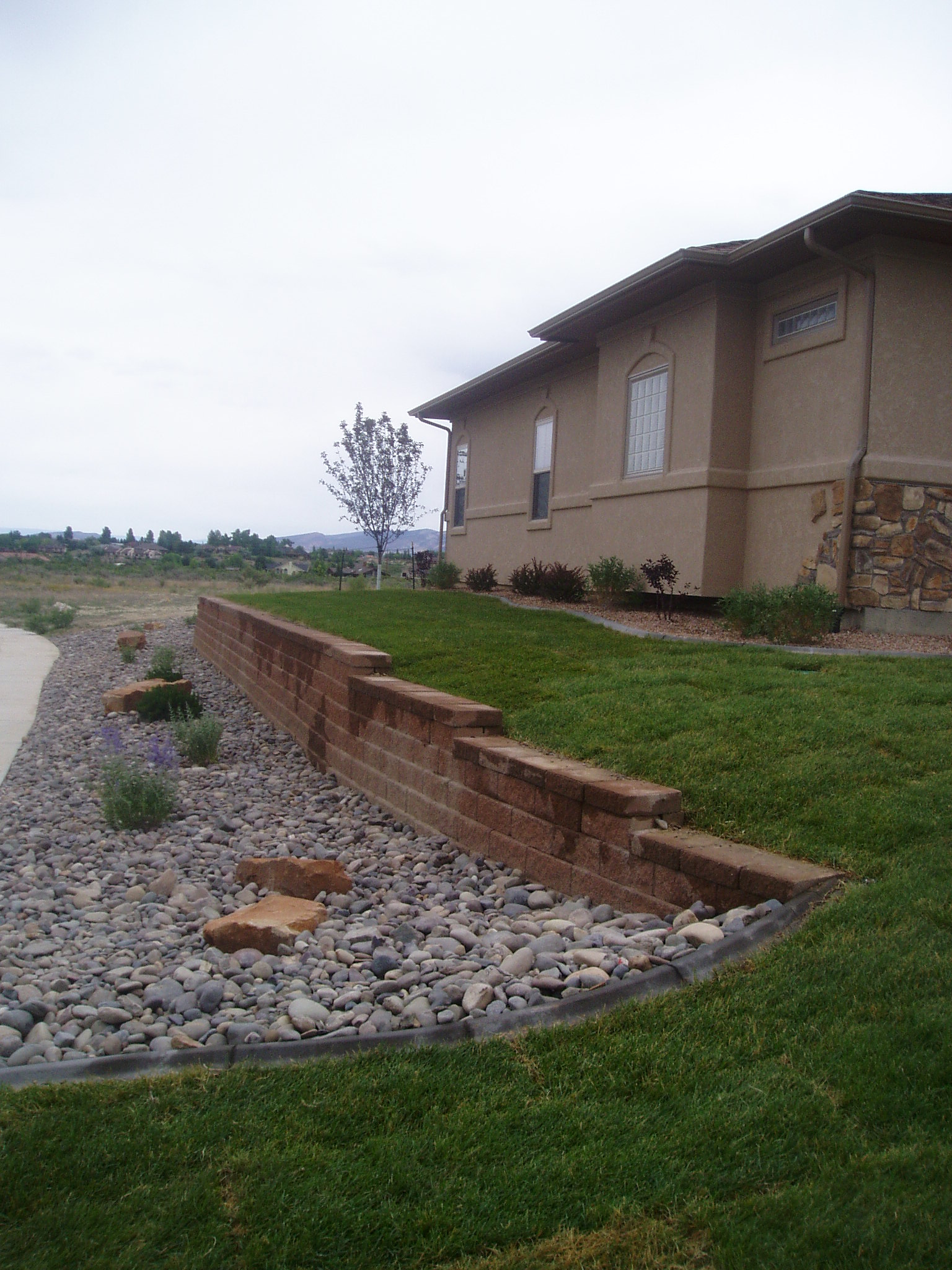 Bristlecone Landscapes Retaining Wall Projects