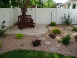 Bristlecone Landscapes 187 A Backyard Landscape With A Trex