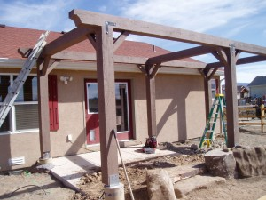 Frame Built for Pergola