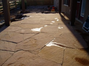 Colorado Buff Flagstone Patio